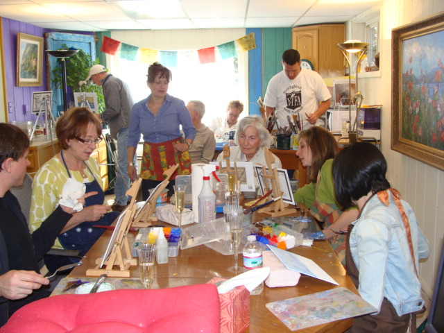 Painting Party, Lillian Kennedy