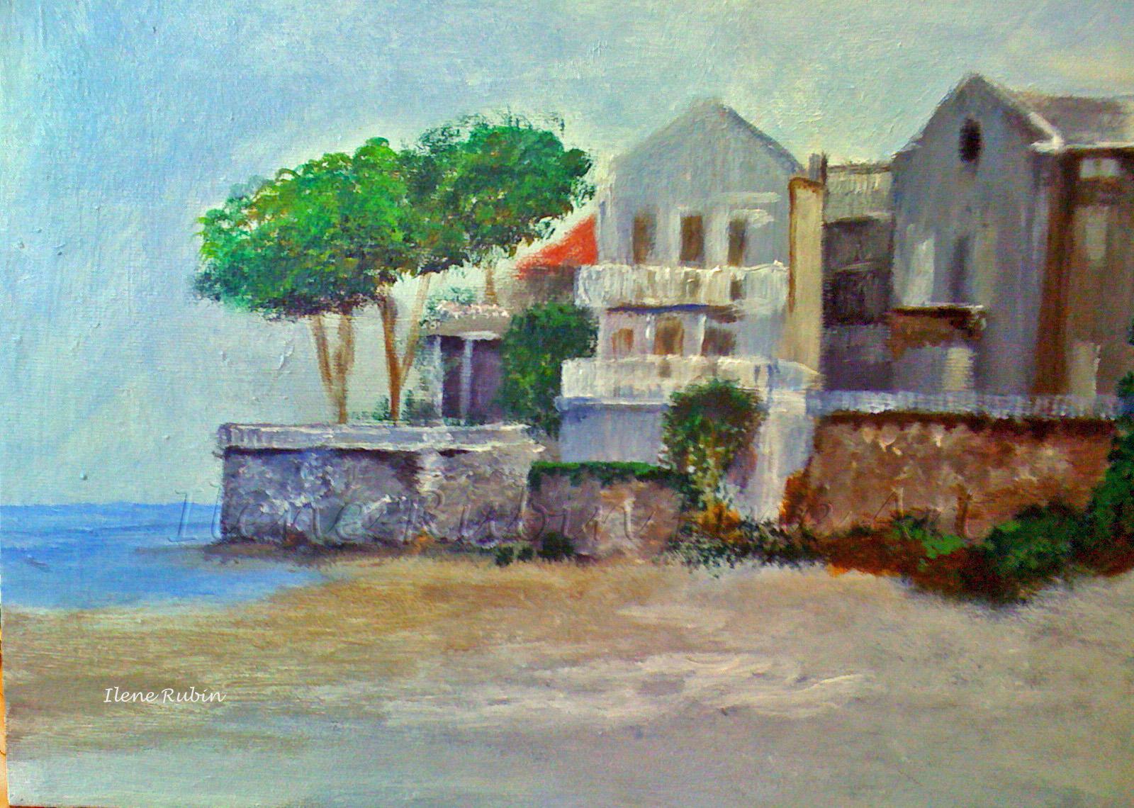 Ilene Rubin - acrylic painting