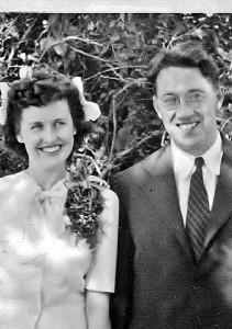 wedding: Paul and Marion Kennedy