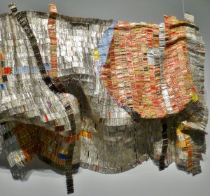 Anatsui, African artist at the Denver Art Museum