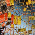 Anatsui, African artist at the Denver Art Museum -Detail