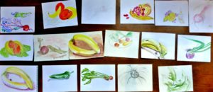 vegetable drawings from free darawing workshop